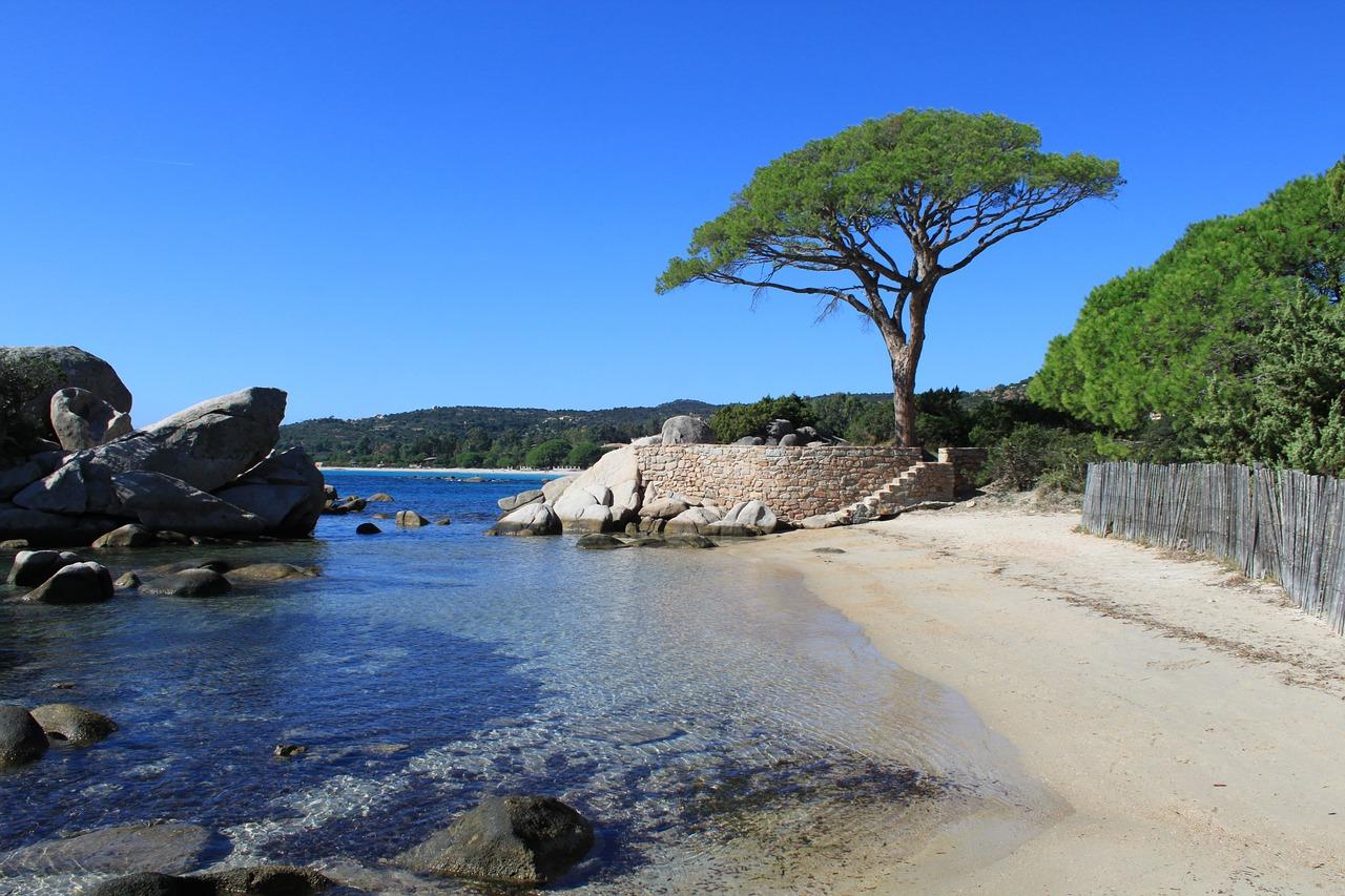 Palombaggia en Corse du Sud
