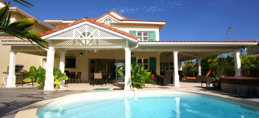 location villa 4 chambres en Guadeloupe