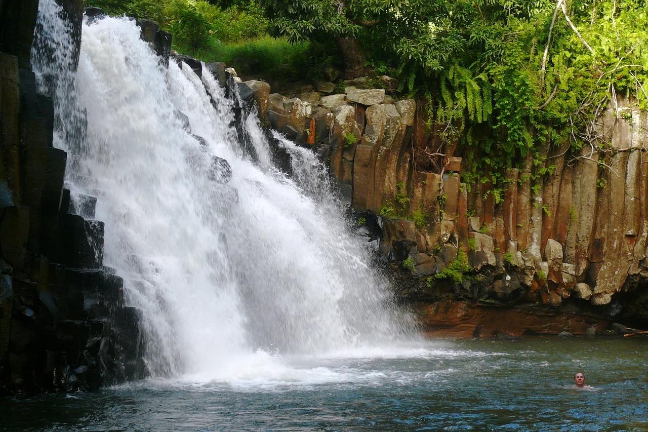 Chute d'eau Ile Maurice