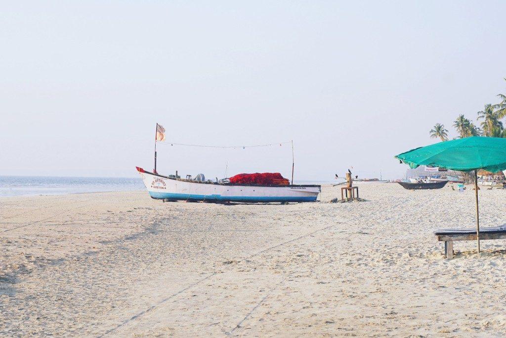 Goa plage pecheur